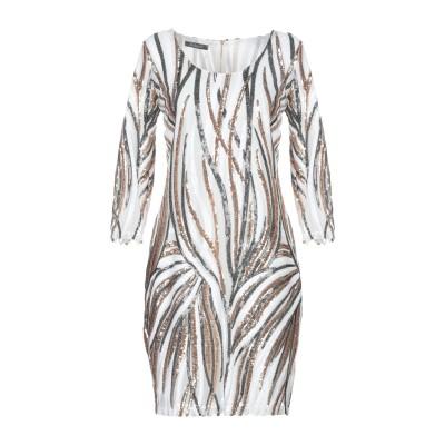 LA KORE ミニワンピース&ドレス ホワイト 0 100% ポリエステル ミニワンピース&ドレス