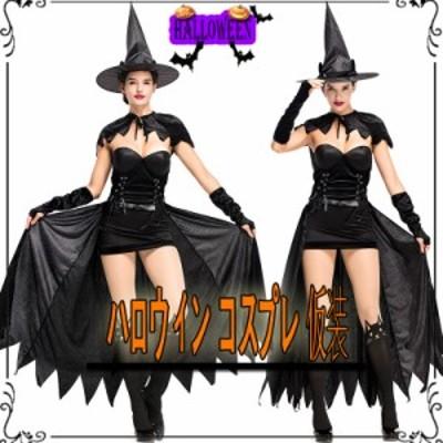 ハロウィン コスプレ ネコ 仮装 黒猫 魔女 巫女 悪魔衣装 コスプレ コスチューム 巫女に変身 ドレス 大人用 可愛いコスプレ