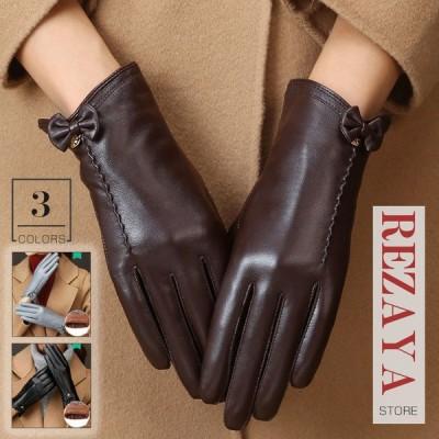 本革手袋 レディース グローブ レザーグローブ レザー手袋 glove  合わせやすい バイク手袋 バイクグローブ レーシンググローブ