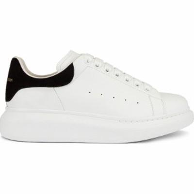 アレキサンダー マックイーン Alexander McQueen レディース スニーカー シューズ・靴 Leather Platform Sneakers White/Black