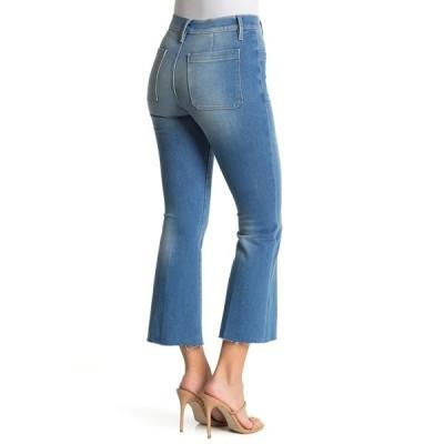 フレーム レディース デニムパンツ ボトムス Le Bardot Crop Flare Leg Jeans FENIX BEAC