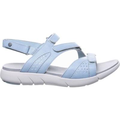 ベアパウ BEARPAW レディース サンダル・ミュール シューズ・靴 Reed Sandals Blue Fog
