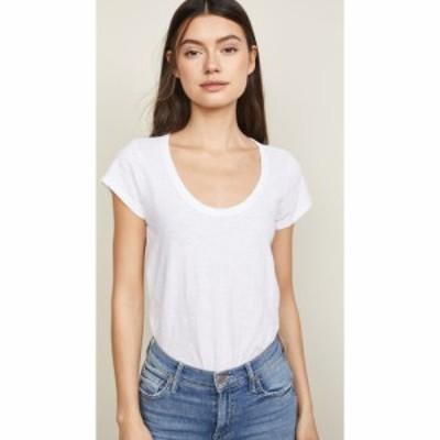 ベルベット グラハムandスペンサー Velvet レディース Tシャツ トップス Original T-Shirt White
