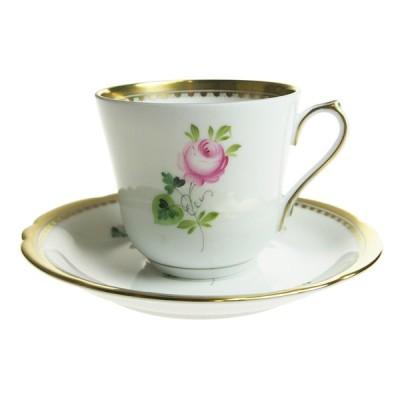 ヘレンド VRH-OR-X1 コーヒーカップ&ソーサー 03537