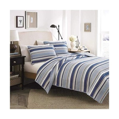 Stone Cottage Fresno Cotton Quilt Set Twin Blue