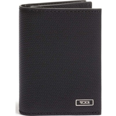 トゥミ TUMI メンズ カードケース・名刺入れ Monaco Leather Card Case Black