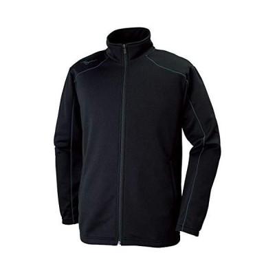 [ミズノ] トレーニングウェア ウォームアップジャケット スタンダード 吸汗速乾 32MC9125 ブラック/キャスチャコ