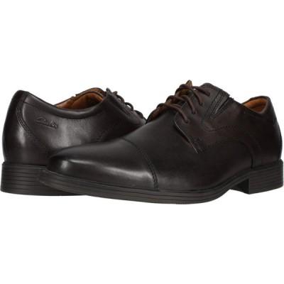 クラークス Clarks メンズ 革靴・ビジネスシューズ シューズ・靴 Whiddon Cap Dark Brown Leather