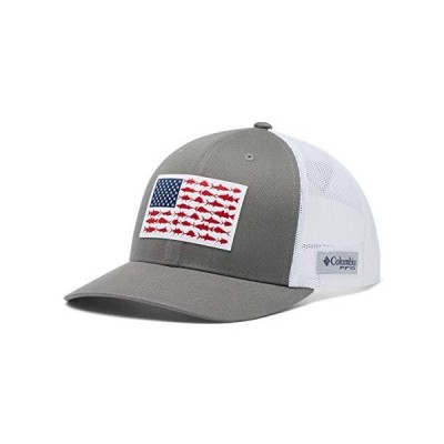 Columbia Men's PFG Fish Flag Snapback Ball Cap, Breathable, Adjustable 並行輸入品 送料無料
