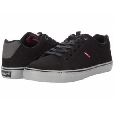 Levis(R) Shoes リーバイス メンズ 男性用 シューズ 靴 スニーカー 運動靴 Turner Perforated Casual Black/Charcoal【送料無料】