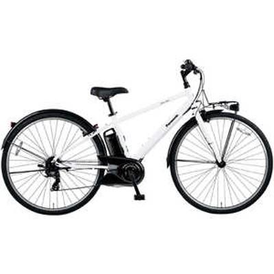 パナソニック Panasonic 電動アシスト自転車 ベロスター VELOSTAR クリスタルホワイト [700C(スポーツ) /7段変速] クリスタルホワイト BE_ELVS773F