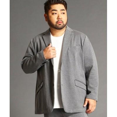 ジャケット テーラードジャケット <大きいサイズ>テーラードジャケット
