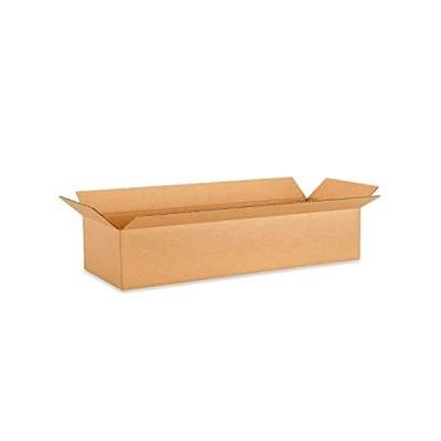 """特別価格IDL Packaging Long Corrugated Shipping Boxes 24""""L x 6""""W x 6""""H (Pack of 10) 好評販売中"""