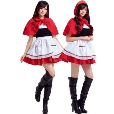 コスプレ ハロウィン衣装 魔女 巫女 童話 可愛い クリスマス パーティー変装 コスチューム 仮装 ワンピース プリンセス 学園祭 パーティーグッズ