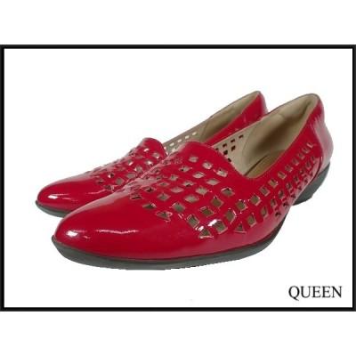 fitfit エナメルレザーパンプス・24cm★フィットフィット/皮革 靴/20*7*1
