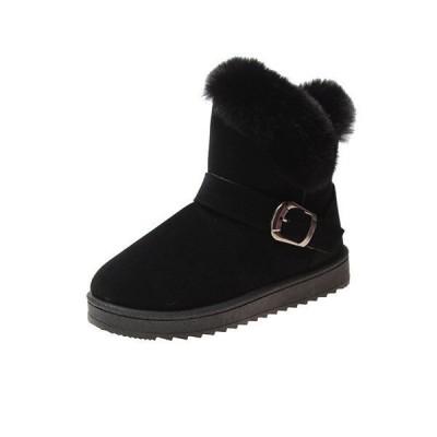 ムートンブーツ レディース 防寒 裏起毛 スニーカー 女性 靴 シューズ 冬靴 ショートブーツ レディースシューズ ボア カジュアル 防温 ストラップ