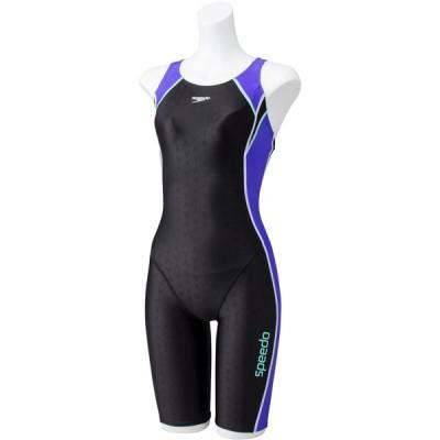 speedo(スピード) LSウイメンズスパッツスーツ ヴァイオレ SD58N13-VI 水着 水泳 スイミング スイムウェア