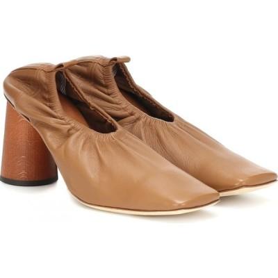 レジーナ ピヨ Rejina Pyo レディース パンプス シューズ・靴 Edie leather pumps Leather Brown