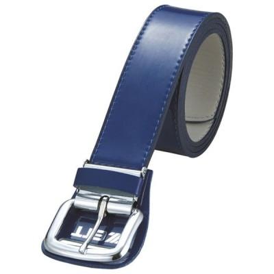 メンズ用エナメルベルト  ZETT ゼット ヤキュウソフトベルト メンズ (BX92-2300)