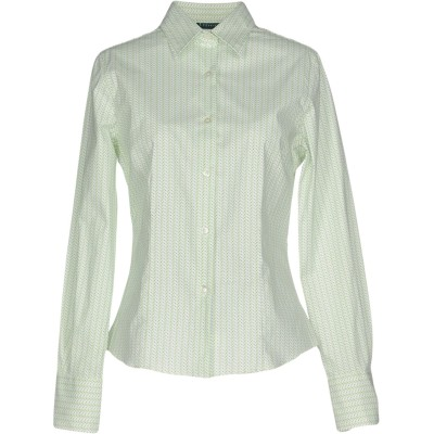 TIBER シャツ ライトグリーン 48 コットン 97% / ポリウレタン 3% シャツ