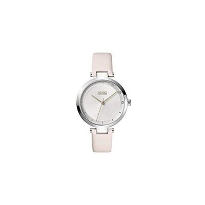 特別価格HUGO by Hugo Boss Women's #Hope Stainless Steel Quartz Watch with Leather C全国送料無料