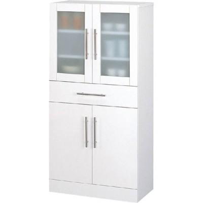 食器棚収納 レンジ台 カウンター 食器棚 カトレア 幅60cm高さ120