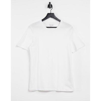 ウェアハウス Warehouse レディース Tシャツ トップス Casual Fit T-Shirt In White ホワイト