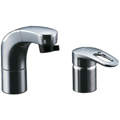 INAX RLF-682Y [洗面用シングルレバー混合水栓 (ホース引出式)]