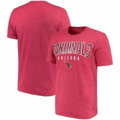 Hands High ハンズ ハイ スポーツ用品  G-III Sports by Carl Banks Arizona Cardinals Cardinal Prime Time Tri-Blend T-Shirt
