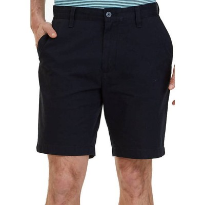ナウティカ メンズ ハーフパンツ・ショーツ ボトムス Big & Tall Flat Front Chino Shorts