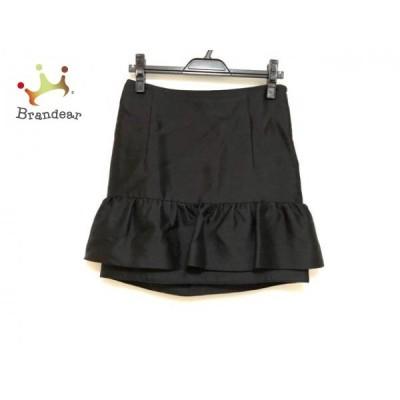 アドーア ADORE ミニスカート サイズ36 S レディース 黒 ギャザー           スペシャル特価 20191018