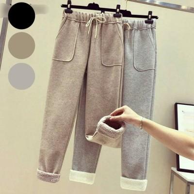 ウール パンツ 3色 -アプリコット-M