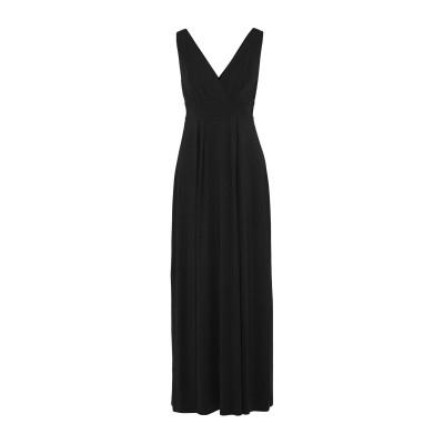 TART COLLECTIONS ロングワンピース&ドレス ブラック XS レーヨン 95% / ポリウレタン 5% ロングワンピース&ドレス