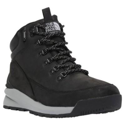 ノースフェイス ブーツ&レインブーツ シューズ メンズ Back-to-Berkely Mid WP Hiking Boot (Men's) TNF Black/Griffin Grey