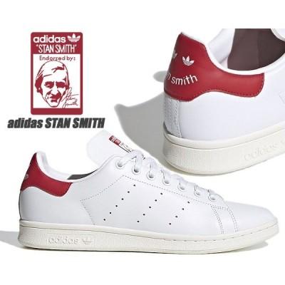 adidas STAN SMITH FTWWHT/OWHITE/SCARLE fv4146 アディダス スタンスミス スニーカー ホワイト レッド レザー