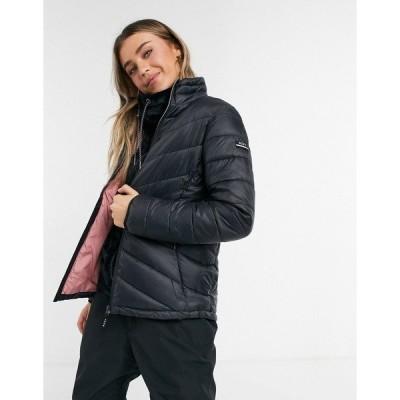 ロキシー レディース ジャケット&ブルゾン アウター Roxy Sunset ski jacket in black True black