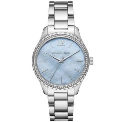 マイケルコース 腕時計 アクセサリー レディース Layton Three-Hand Stainless Steel Watch Silver