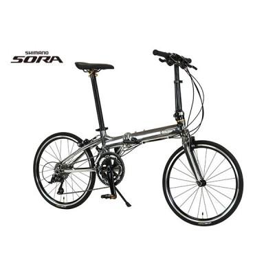 PLATINUM MACH9 (プラチナマッハ9)シルバー   ルノー (組立・整備発送)  RENAULT 自転車  折りたたみ自転車 軽量 20インチ