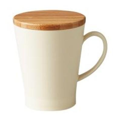 10%OFFクーポン対象商品 マグカップ 350ml プラスチック ナチュラルテーブル Natural Table 食器 洋食器 日本製 アイボリー クーポンコード:7CLY8DW