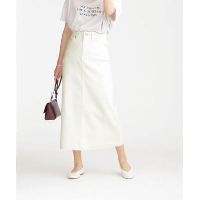 WEB限定/超撥水ストレッチマキシスカート