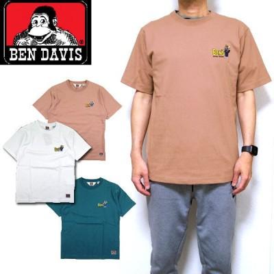 ベンデイビス Tシャツ 半袖 メンズ BEN DAVIS ペインター ゴリラ 刺繍 ベンデービス ブランド
