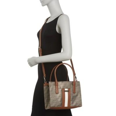 ナウティカ レディース ハンドバッグ バッグ Sandy Lakeside Jacquard Satchel Bag J81-KHAKI