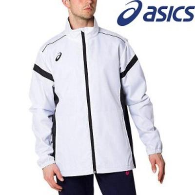 ◆◆● <アシックス> ASICS 裏トリコットブレーカージャケット 2031A898 (100)BRILLIANT WHITE スポーツウェア ブレーカージャケット