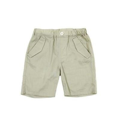 BeBe/べべ ボイル ポケット 付き ひざ丈 パンツ(80~100cm) ベージュ 100cm