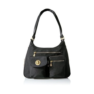 バッガリーニ アメリカ 日本未発売 SMS918 Baggallini womens San Marino Satchel, Black,One Size