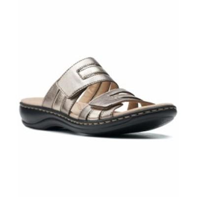 クラークス レディース サンダル シューズ Leisa Zoe Slip-On Sandals Metallic