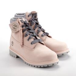 Timberland 女款淺粉色磨砂革6吋靴A2F6DN97