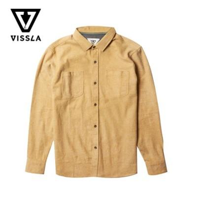 ヴィスラ フランネル シャツ Mサイズ VISSLA Shaver LS Flannel シェーバー 長袖シャツ ビスラ サーフ サーフブランド サーフスタイル おしゃれシャツ