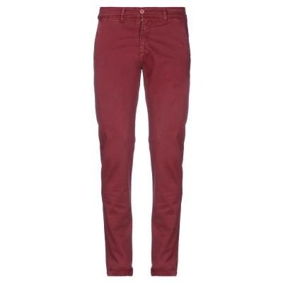 LIU •JO MAN パンツ ボルドー 28 コットン 97% / ポリウレタン 3% パンツ