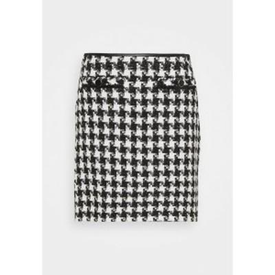 ウォリス  レディース スカート ボトムス DOGTOOTH - Mini skirt - mono mono